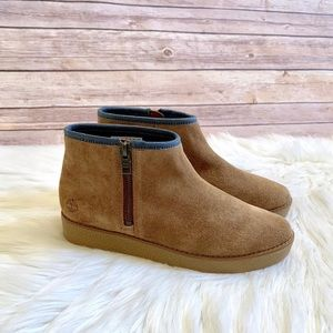Timberland Paxton Hill Suede Ankle Booties